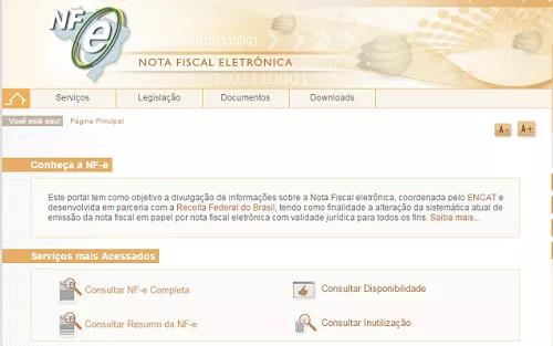 Consulta através do Portal da Receita. Foto: Reprodução