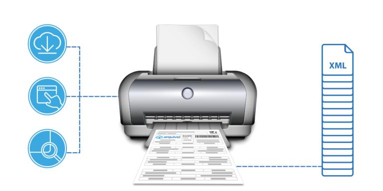 Imprimir DANFe online