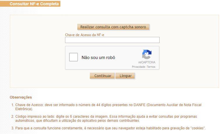 Consultar NF-e completa na Sefaz, agora exige certificado digital